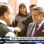 Trujillo: César Acuña se muestra confiado tras denuncias judiciales en su contra