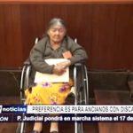 Trujillo: PJ atenderá preferencialmente al adulto mayor que posee discapacidad