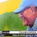 Piura: Polémico retrato del alcalde de Castilla aparece pintado en Villa FAP