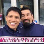 Aldo Miyashiro y André Silva representarán a Perú en festival de cine en USA