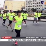 Atletismo: Trujillano espera traer primer lugar de la Media Maratón
