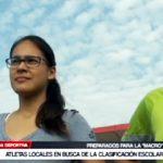 Atletismo: Niños en busca de la clasificación escolar