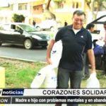 Trujillo: Recibieron ayuda madre e hijo que sufren de problemas mentales