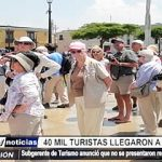 Trujillo: 40 mil turistas visitaron la Capital de la eterna Primavera