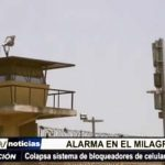 Trujillo: Colapsa el sistema de bloqueo de comunicación por celular en penal El Milagro