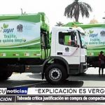 MPT: Regidora critica justificación en compra de compactadoras para el SEGAT