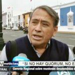 Trujillo: José Otiniano exige a GERESA que reanude reuniones de COREMUSA