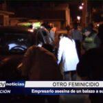 Chimbote: Empresario asesina de un balazo a su esposa