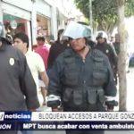 MPT: Autoridad edil realiza operativo contra la venta ambulatoria