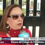 Trujillo: Decana del Colegio de Periodistas se pronuncia ante caso del periodista Hugo Larrea