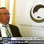 Trujillo: Para el exjefe de TMT la concesión de recaudo electrónico es apresurada
