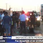 Trujillo: Motociclista perdió la vida tras ser arrollado por un tráiler