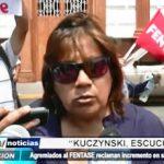 Trujillo: Agremiados del FENTASE reclaman incremento en remuneraciones