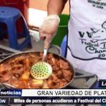 Lambayeque: Miles de personas acudieron a Festival del Chancho en Zaña