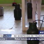 Chimbote: Roban balones de gas en Hospital Regional