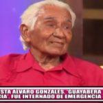 Humorista Álvaro Gonzales, 'Guayabera sucia', fue internado de emergencia