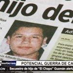 """México: Secuestro de hijo de """"El Chapo"""" Guzmán alerta a la población"""