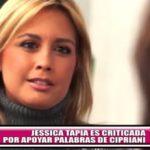Jessica Tapia es criticada por apoyar palabras de cardenal Cipriani