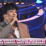 Mhoni vidente 'predijo' muerte de Juan Gabriel hace dos semanas
