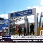 Julcán: Inauguran moderna posta médica en caserío de Canraz