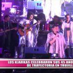 """""""Los Kjarkas"""" celebraron en Trujillo sus 45 años de trayectoria"""