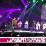 Huamachuco celebró su 463 aniversario