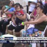 Piura: 3 de cada 10 de mujeres no alimentan bien a sus hijos