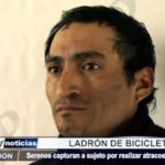 Víctor Larco: Agentes de serenazgo capturan a ladrón de bicicletas