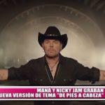 """Maná y Nicky Jam graban nueva versión de tema """"De pies a cabeza"""""""