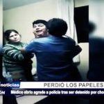 Trujillo: Médico ebrio pierde los papeles tras ser detenido y agrede a policía