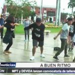 Trujillo: MPT y DEVIDA lanzan convocatoria para talleres gratuitos de baile urbano