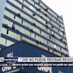 """Trujillo: """"JNE no puede revisar revocatoria"""""""