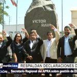 APRA: Respaldan declaraciones de José Murgia sobre gestión de Elidio Espinoza