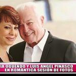 Sonia Oquendo y Luis Angel Pinasco en romántica sesión de fotos