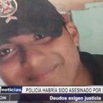 La Esperanza: Policía habría sido asesinado por su compañero suboficial de tercera
