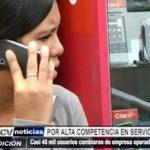 Trujillo: Casi 48 mil usuarios cambiaron de empresa de telefonía en los últimos 2 años