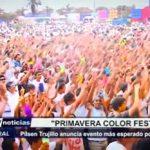 Pilsen Trujillo anuncia evento esperado por la juventud Primavera Color Fest