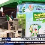 """La Esperanza: Feria """"Tecno Recicla"""" busca recolectar aparatos electrónicos en desuso"""