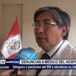 Trujillo: Médico obligaría a pacientes del SIS a atenderse en laboratorio privado