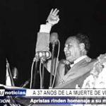 Trujillo: Apristas rinden homenaje a Víctor Raúl Haya de la Torre