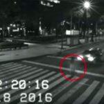 México: Extraña aparición grabada por cámaras de seguridad
