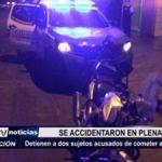 Trujillo: Asaltantes se accidentaron en plena fuga