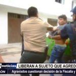 Víctor Larco: Fiscalía libera a sujeto que agredió a un policía