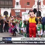 """Trujillo: Inauguran  campeonato de fútbol """"Amigos de la Policía"""""""