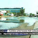 Trujillo: Aniego de desagüe causó malestar a vecinos de Prolongación Unión