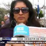 APRA: Isabel Peña pide a Elías Rodríguez no postular a secretaría general