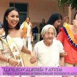 Festival de la Primavera: Reinas llevaron alegría y ayuda al Asilo de ancianos