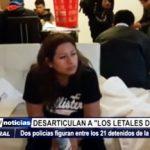 Trujillo: Dos policías figuran entre los 21 detenidos de banda criminal