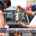 Trujillo: Instituciones se suman a campaña nacional contra bebidas alcohólicas ilegales