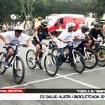Ciclismo: EsSalud alista I bicicleteada 2016